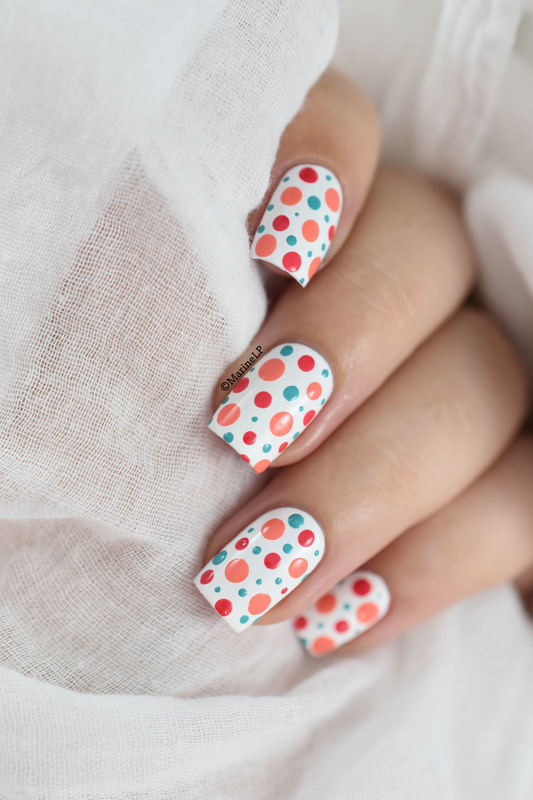 Dotticure tutorial nail art by Marine Loves Polish