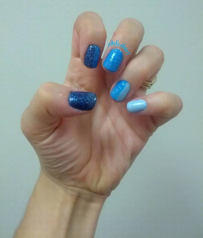 I'm Blue nail art by chleda15