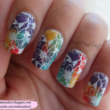 White 20stamping 20flowers 20rainbow 20background 20nail 20art 20design thumb370f