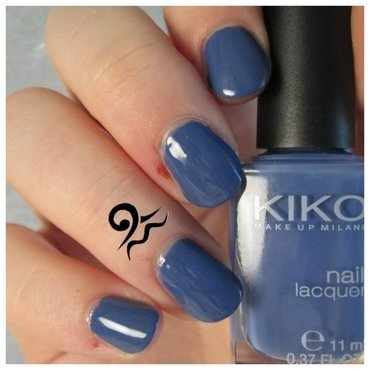 Kiko Light Navy Blue Swatch by Libraquarius