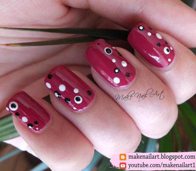 Easy Dotticure Nail Art Design nail art by Make Nail Art