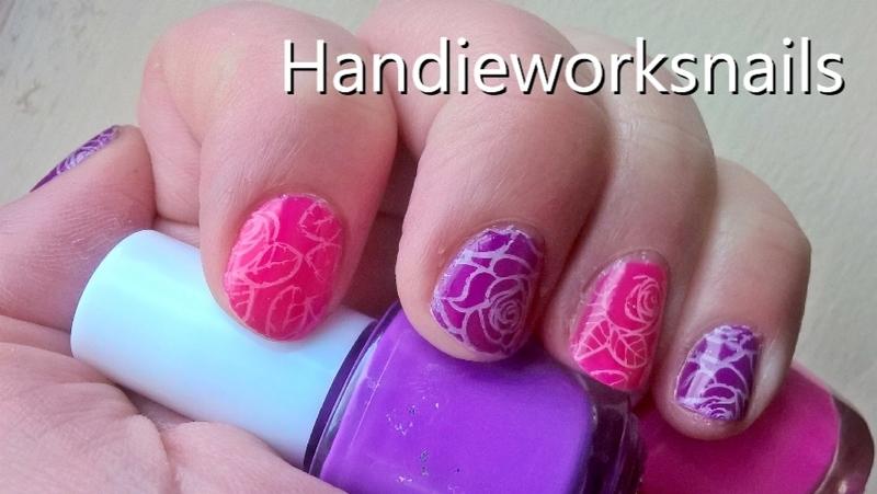 peelable nail art nail art by Sazjay