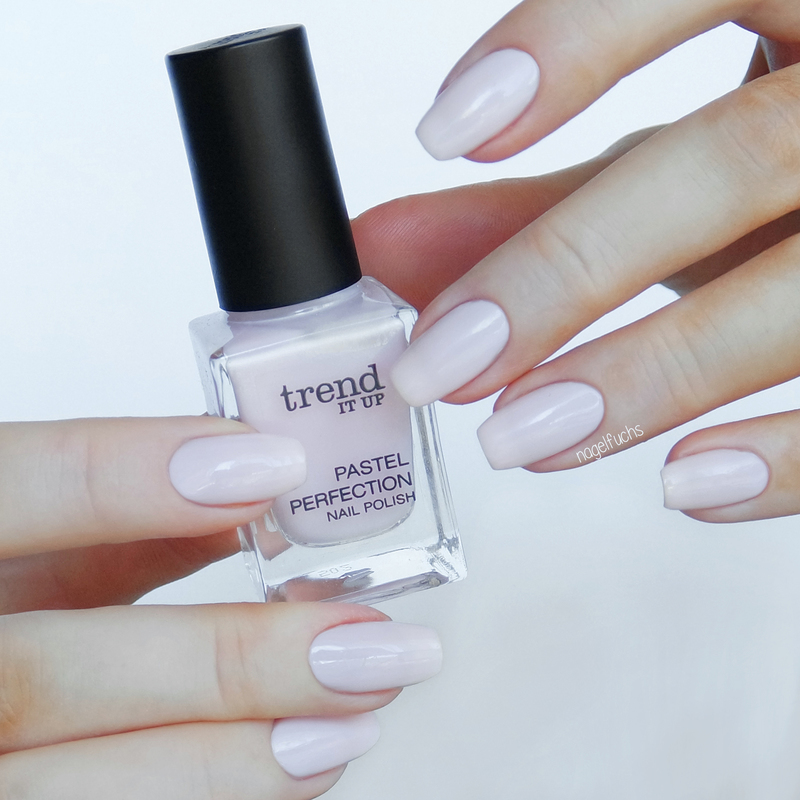 Trend it Up Pastel Perfection 010 Swatch by nagelfuchs - Nailpolis ...