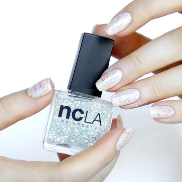NCLA glistening scales Swatch by nagelfuchs