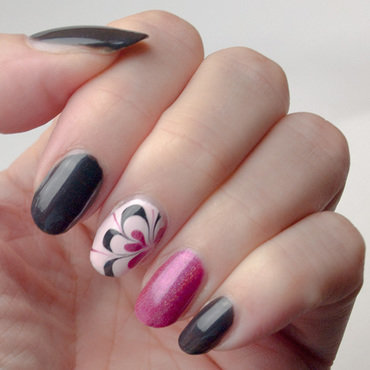 Accents water marble pink flower instagram thumb370f