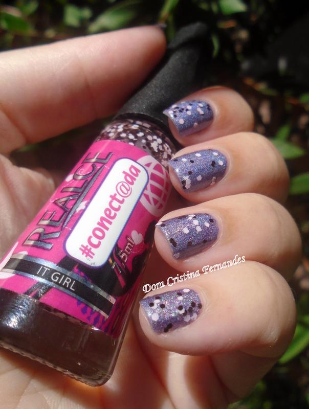 It Girl nail art by Dora Cristina Fernandes