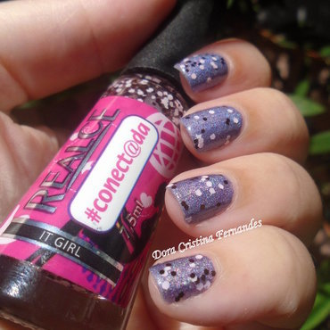 It Girl nail art by Dora Cristina Fernandes
