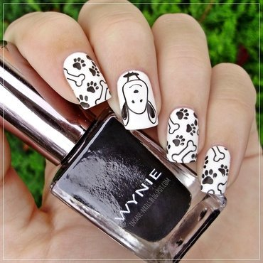 Snoopy nails 2 thumb370f