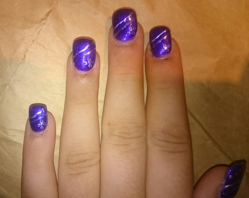 Wedding nails  nail art by Sabina Salomonsson
