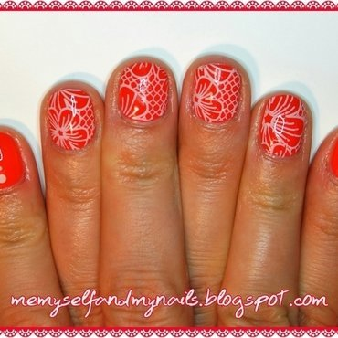 gRANNY'S LaCE nail art by ELIZA OK-W