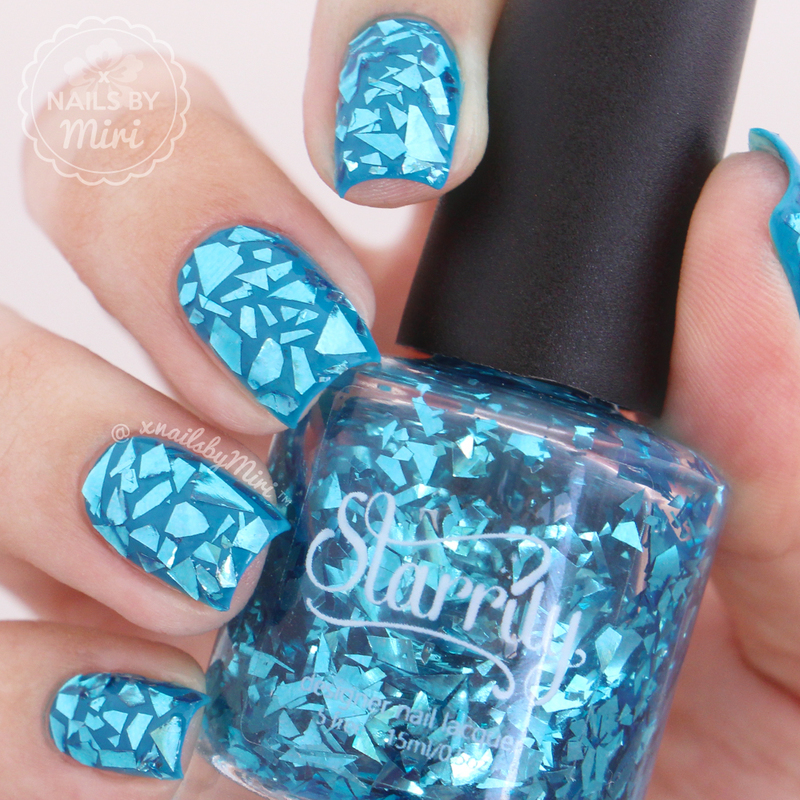 Starrily Sea Glass Swatch by xNailsByMiri