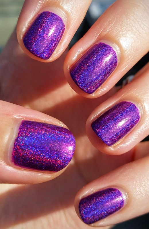 Cupcake Polish Berry Good Looking Swatch by Hermine