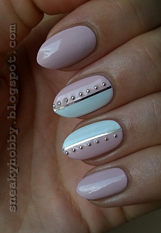 The Power Of Simplicity  nail art by Mgielka M