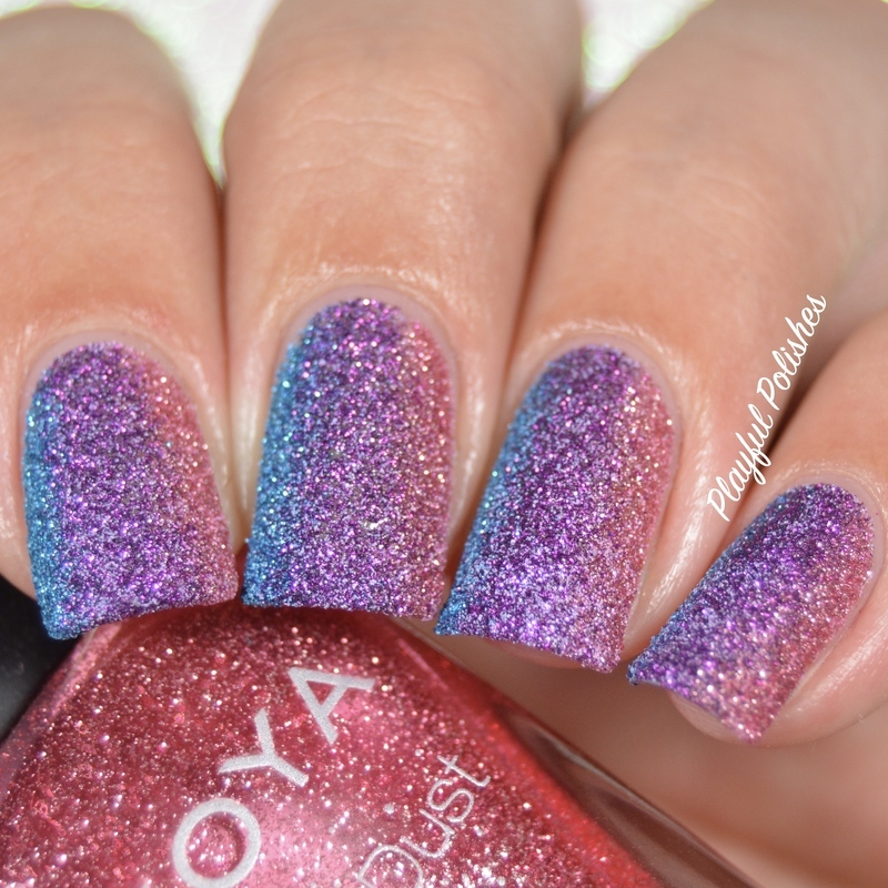 31DC2016 - Day 17, Glitter nail art by Playful Polishes
