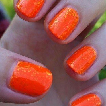 Kleancolor Neon Orange and Nubar Nubar 2010 Swatch by Hermine