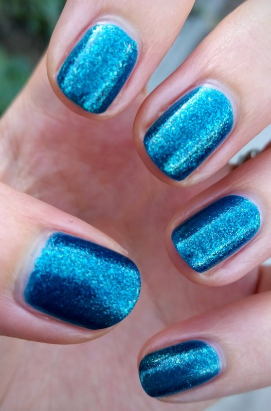 Wet n Wild Teal of Fortune Swatch by Hermine