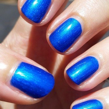 Wet n Wild Saved by the Blue Swatch by Hermine