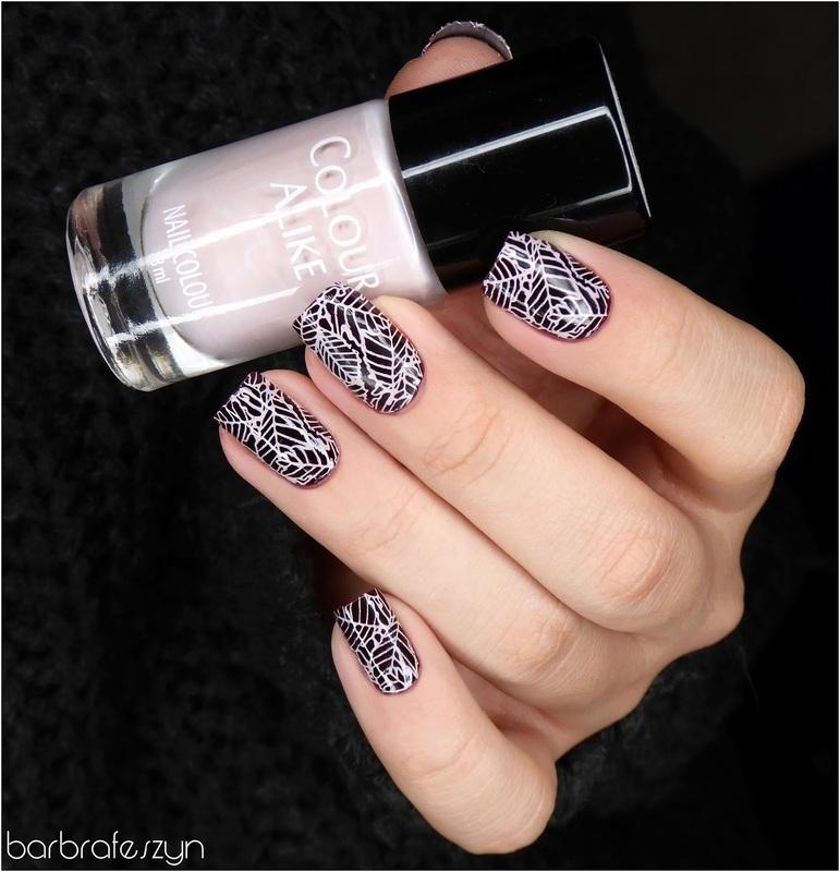 Autumn leaf nails nail art by barbrafeszyn