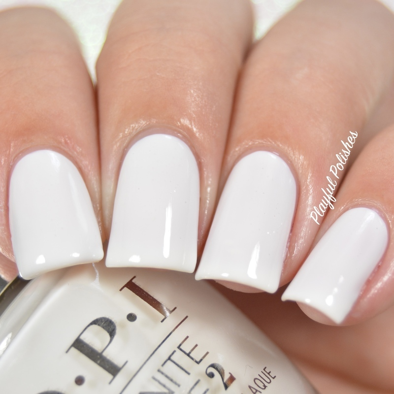 OPI Infinite Shine Funny Bunny Swatch by Playful Polishes