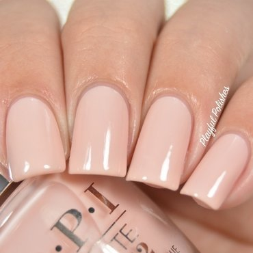 OPI Infinite Shine Bubble Bath Swatch by Playful Polishes