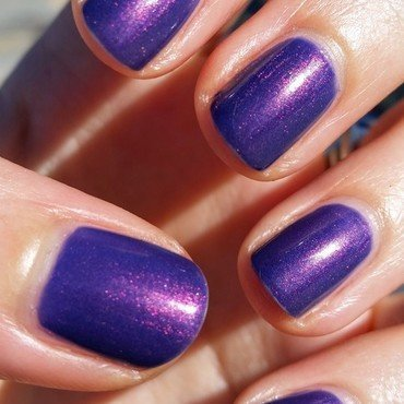 Cult Nails Flushed Swatch by Hermine