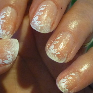 French #nailstormeuse nail art by Barbouilleuse