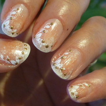 Frech #nailstormeuse 2 nail art by Barbouilleuse