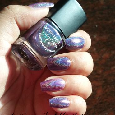 Born Pretty Holographic Effect 11# Swatch by Aditi