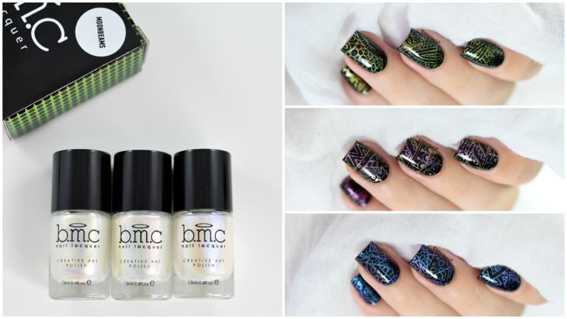 Bundle Monster Moonbeams nail art by Marine Loves Polish