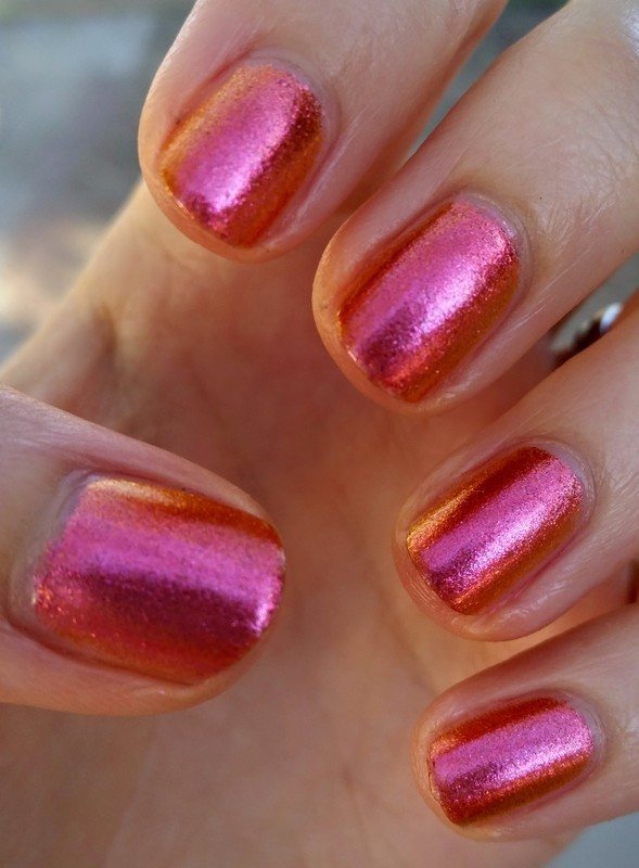 Sally Hansen Lava Swatch by Hermine