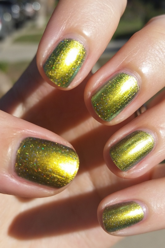 Enchanted Polish Mean Mr. Mustard Swatch by Hermine