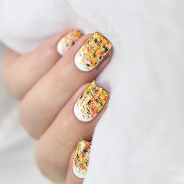 Autumnal dry brush nail art video tutorial 20 2  thumb370f