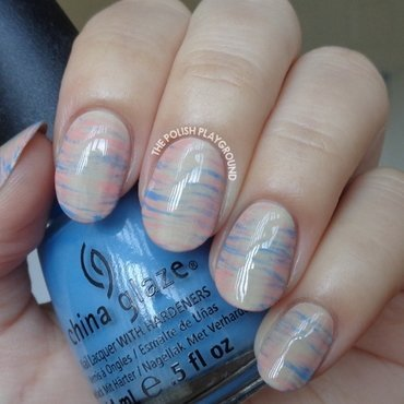 2016 Pantone Colors Inspired Haze Nail Art nail art by Lisa N