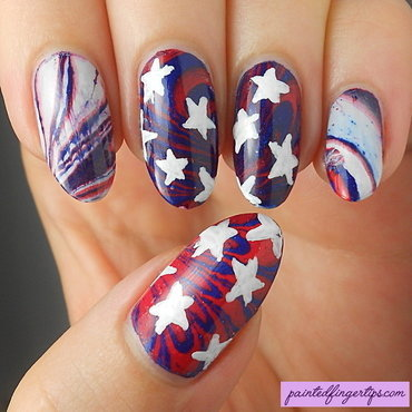 Us flag water marble thumb370f