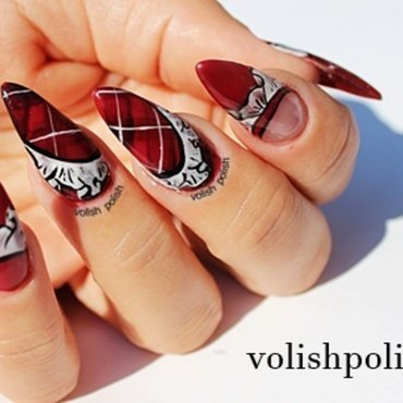 Volish 20polish 20plaid 20nail 20art thumb370f