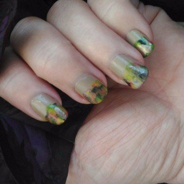 Falling for ...Fall nail art by tigerlyly