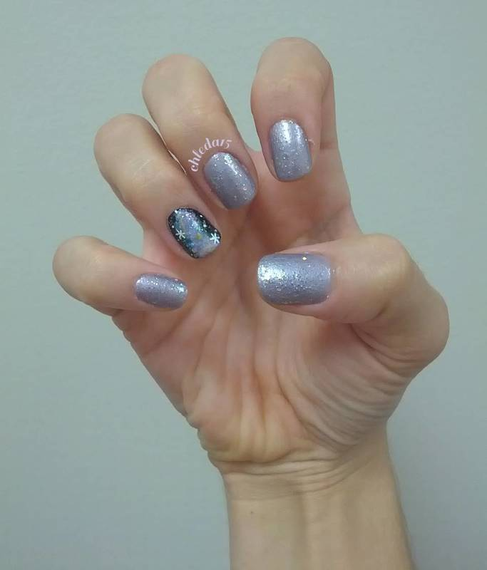 Nice Nebula ;) nail art by chleda15