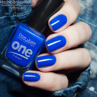 Don Juan One coat OC227 Swatch by Irina Zorg