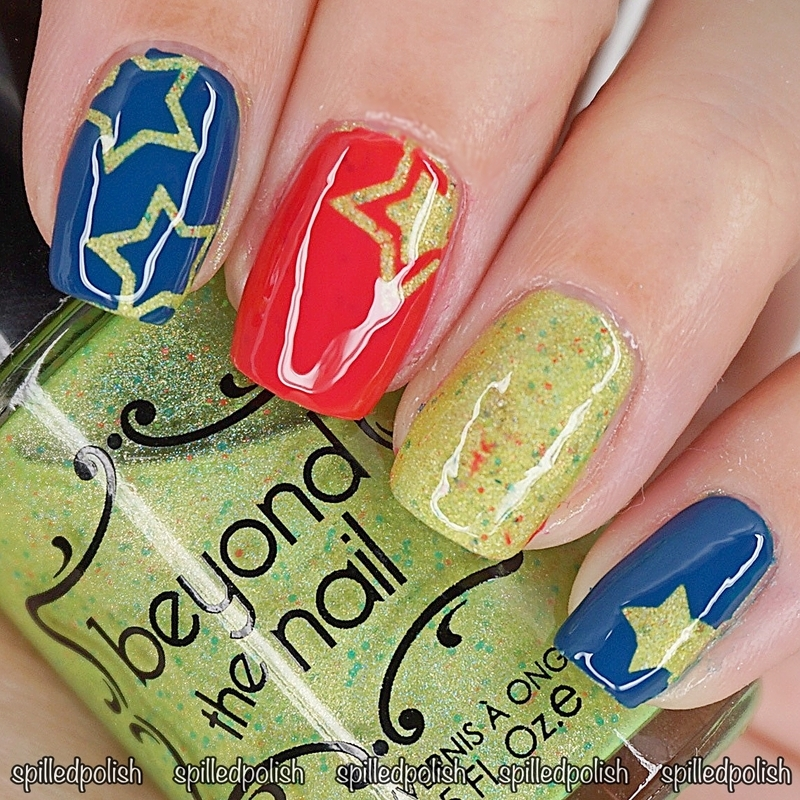 #31DC2016: Day 22 - Inspired by a Song nail art by Maddy S