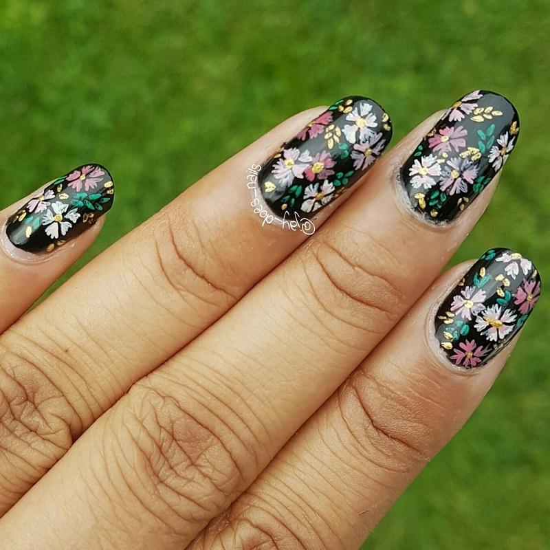 Sabyasachi AW16 nail art by Jaya Kerai