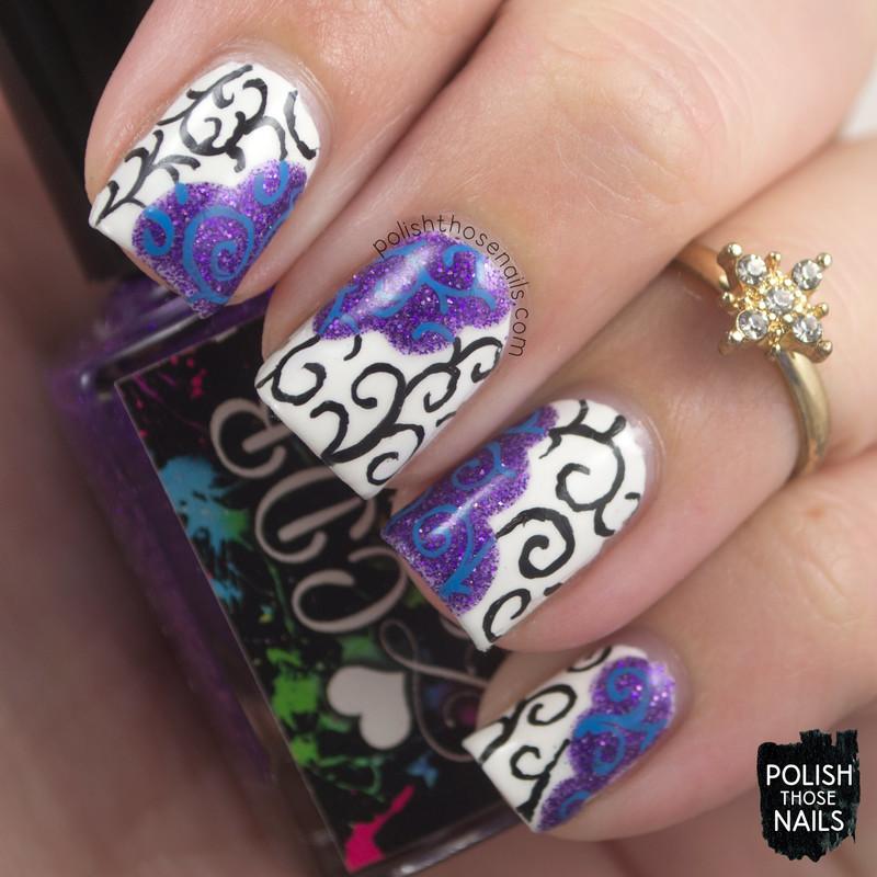True Contrite nail art by Marisa  Cavanaugh