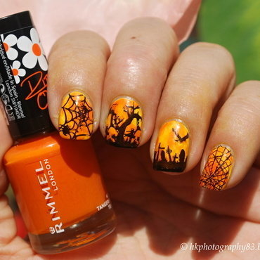 Halloween Nail Art nail art by Hana K.