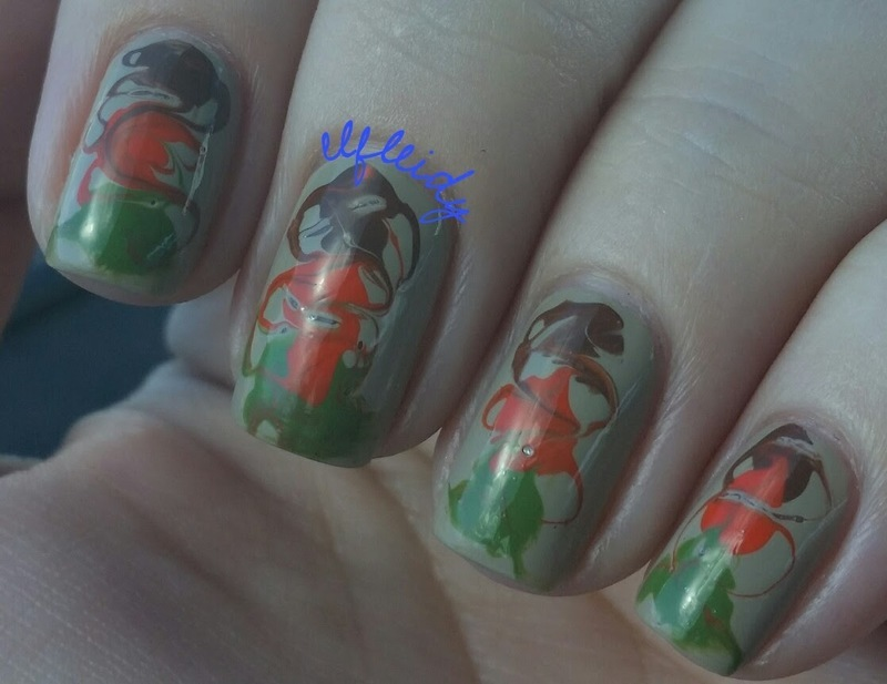 #40GreatNailIdeas 09-30-2016 nail art by Jenette Maitland-Tomblin