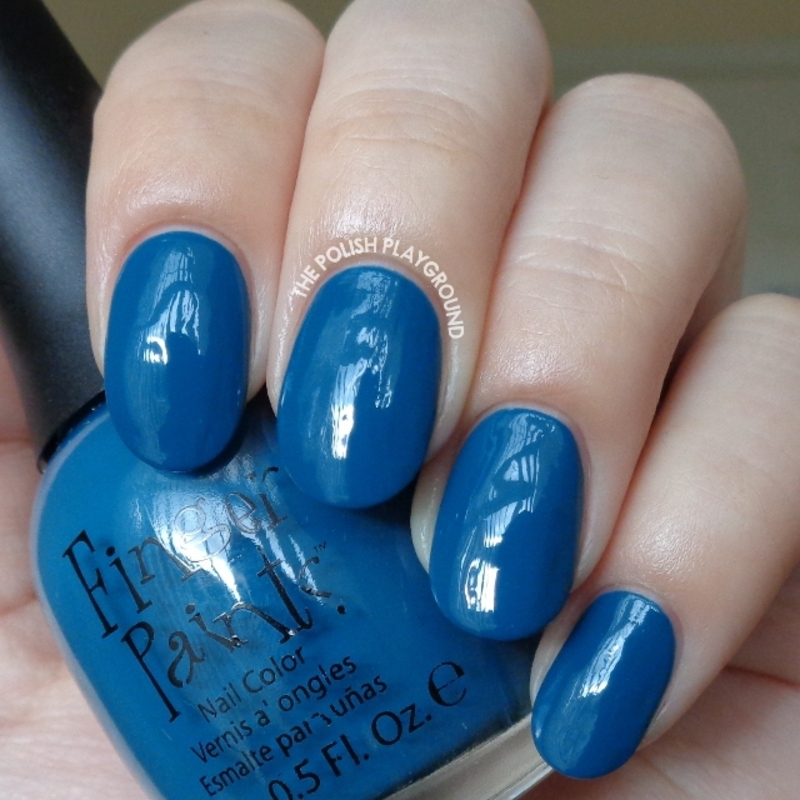 Finger Paints To-Teally Chic Swatch by Lisa N