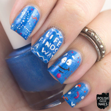 Blue print dna jurassic park nail art 4 thumb370f