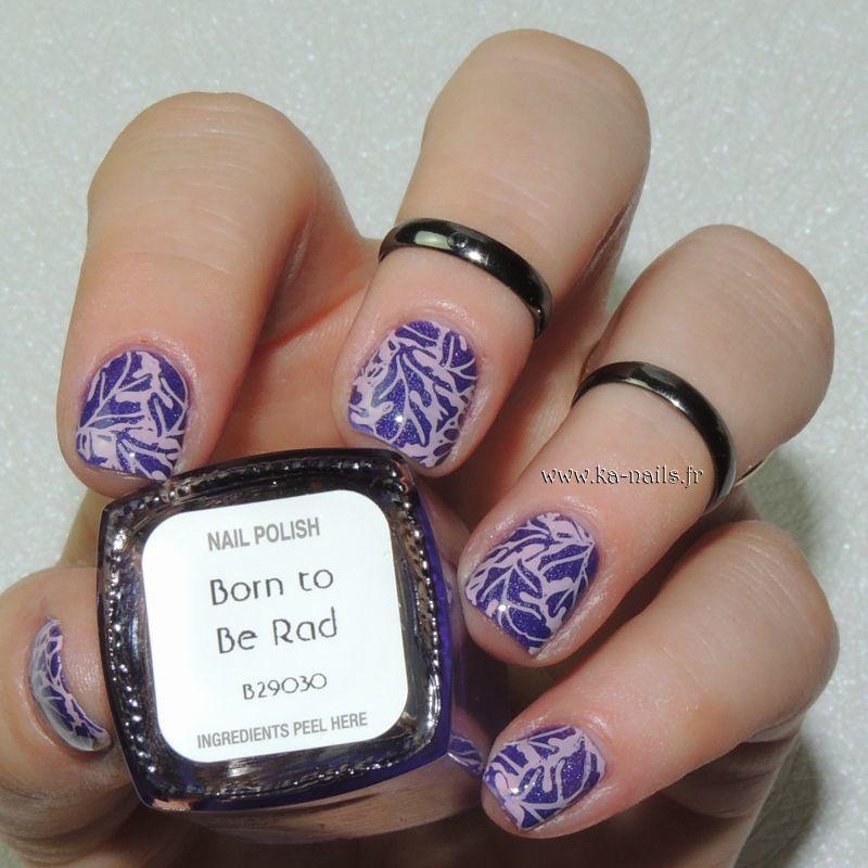 Fall Fantasy nail art by Ka'Nails