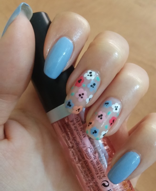 end of summer nail art by irenek