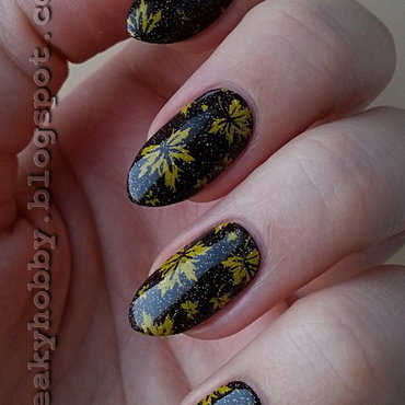 Perfect For Fall nail art by Mgielka M