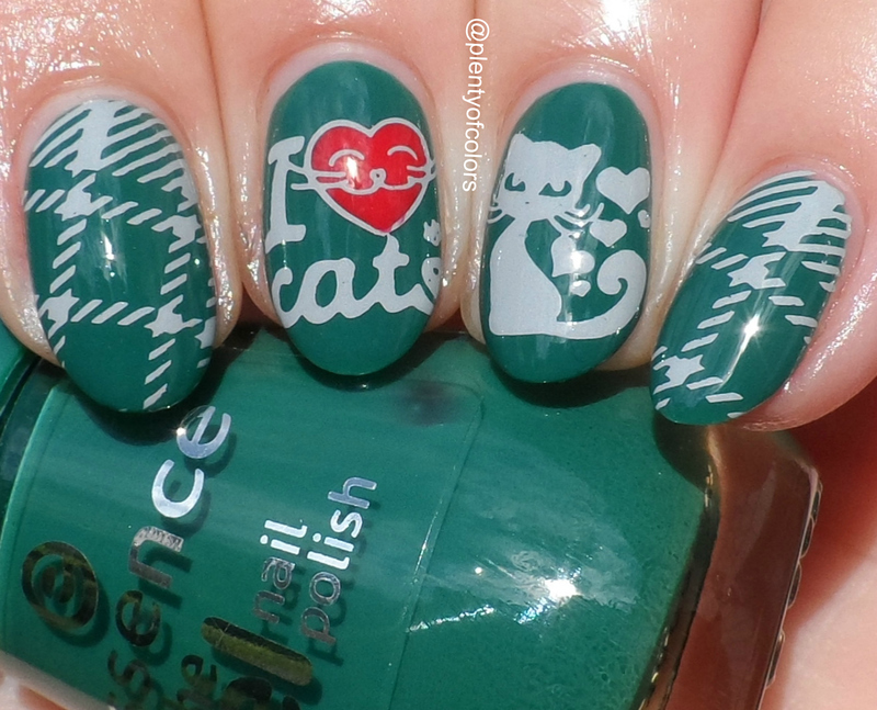 Cats nail art by Plenty of Colors
