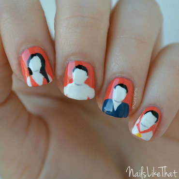 Victorious nail art by Nicole M
